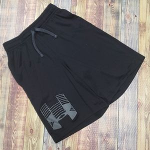 UNDERARMOUR YOUTH HEATGEAR BASKETBALL SHORTS MED